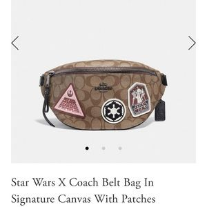 Star Wars X Coach Belt Bag